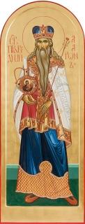 Святой праведный Аарон. Дьяконская дверь