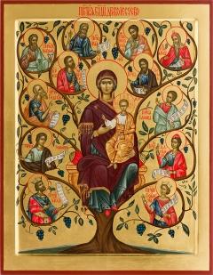 Икона Божией Матери «Древо Иессеево»