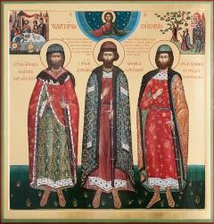 Мученики Виленские: святые Иоанн, Антоний и Евстафий