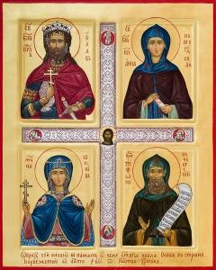 Святой благоверный король Олав, святая благоверная княгиня Анна Новгородская, мученица Суннива, преподобный Трифон Печенгский
