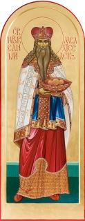 Святой праведный Мелхиседек. Дьяконская дверь