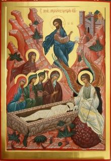 Икона «Святые жены Мироносицы при гробе Христовом»