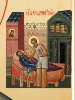 Святитель Лука Крымский. Клеймо