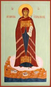 крестильная икона