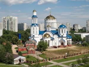 Храм во честь собора Московских святых в Бибиреве