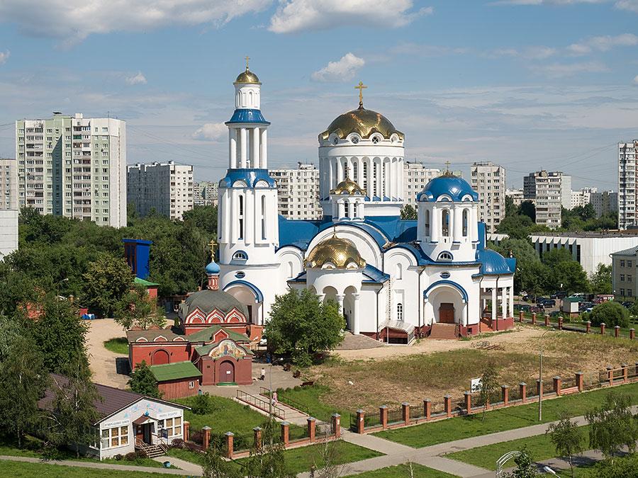 Собор Всех московских святых в Бибиреве